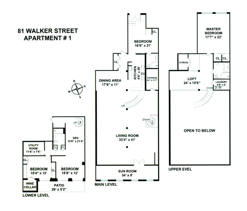 81 Walker Street - Floor Plan