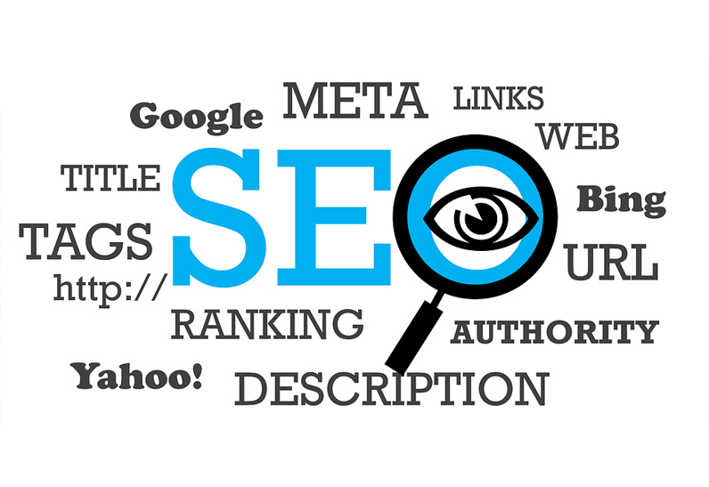 Photo of SEO and SEM technology