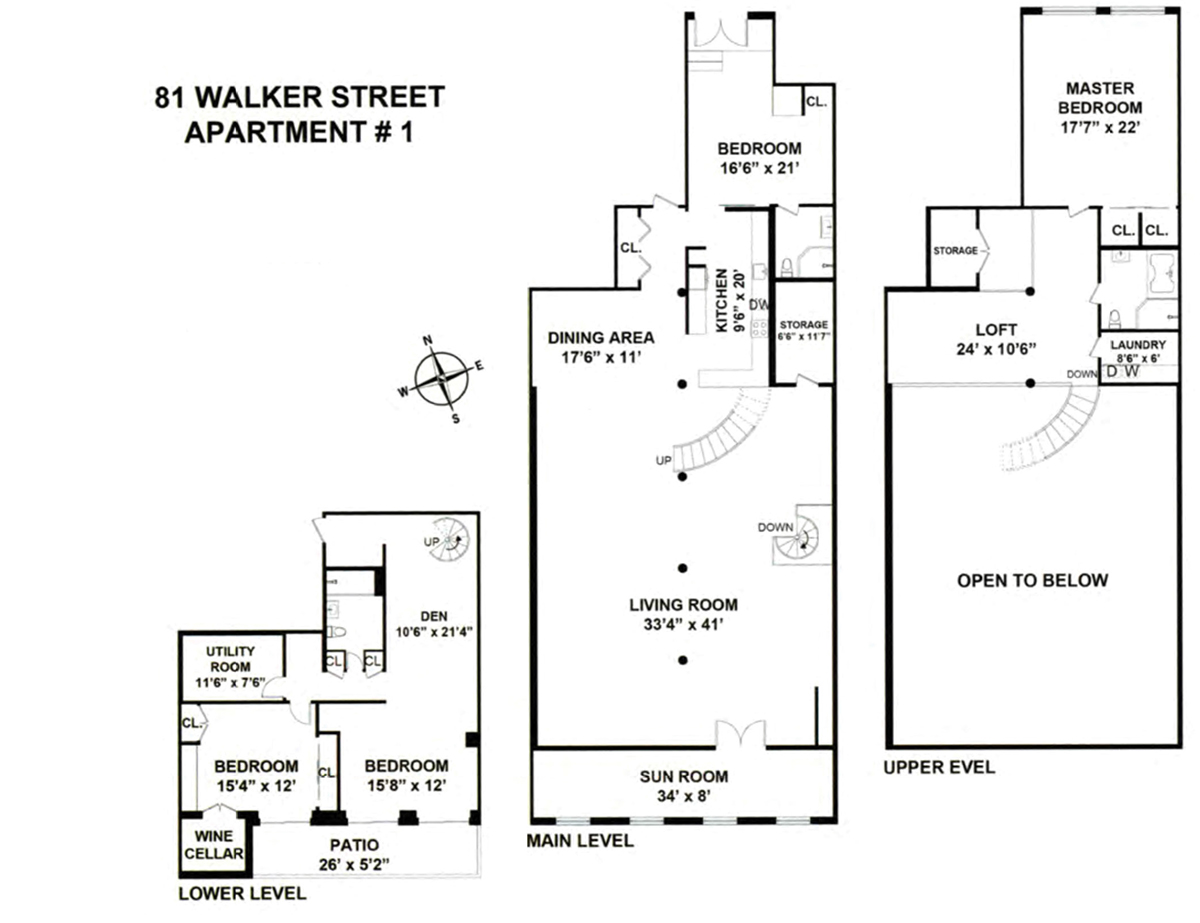 81 Walker Street - Floor Plan