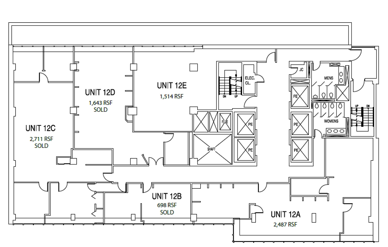 131 West 33rd Street - Floor Plan