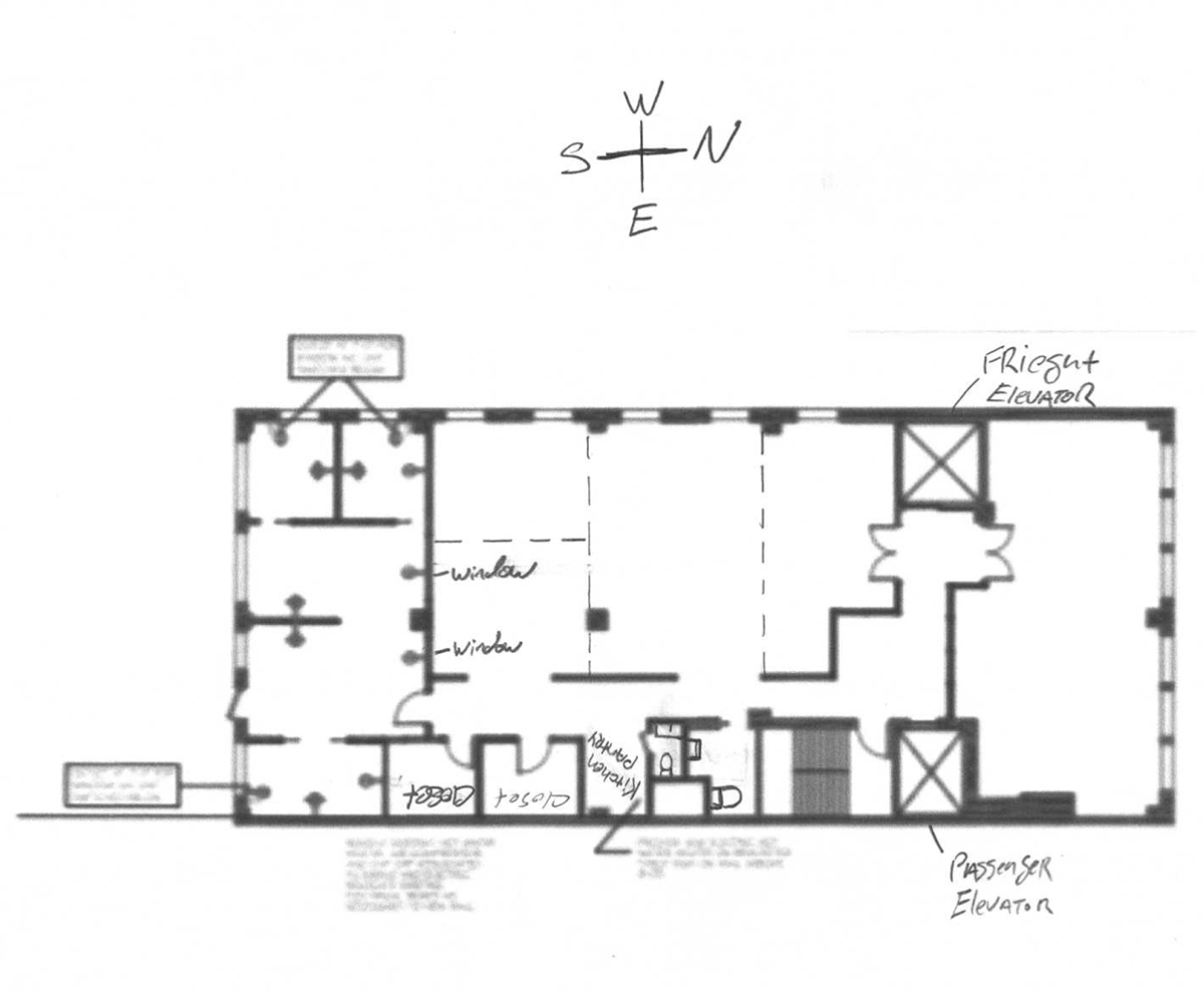 164 West 25th Street - Floor Plan